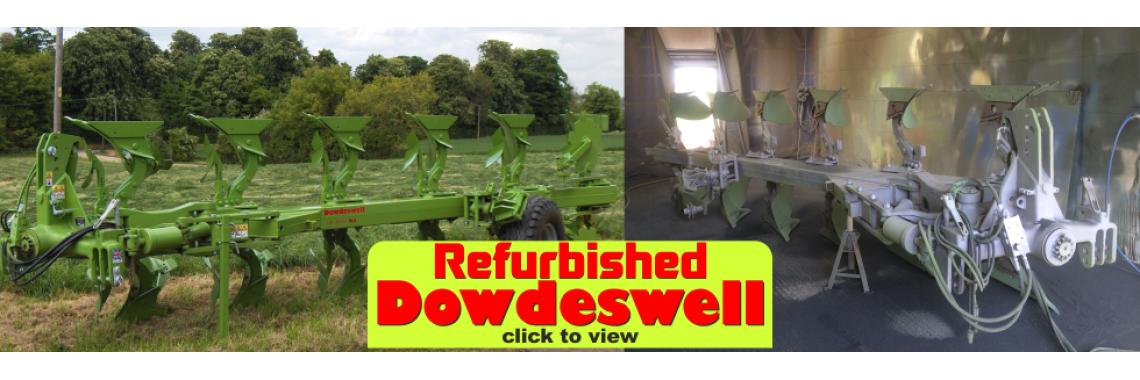 Refurbished Dowdeswell Ploughs